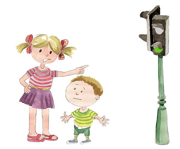 (2) dziewczynka i Male Lee - swiatlo zielone s